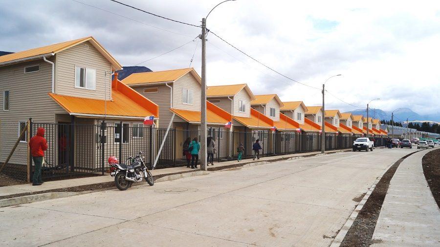 foto archivo casas Coyhaique